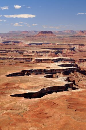 Landscape of Canyonlands National Park Banco de Imagens