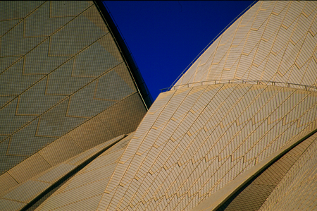 Sydney Opera House, detail of the roof