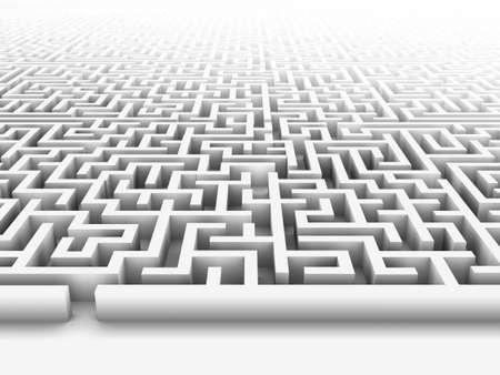High quality illustration of a large maze or labyrinth. Please see my portfolio for more in the series. Stock Illustration - 5680947