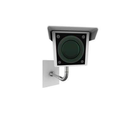 CCTV camera. High quality illustration, isolated on a white background. Stock Illustration - 5735201