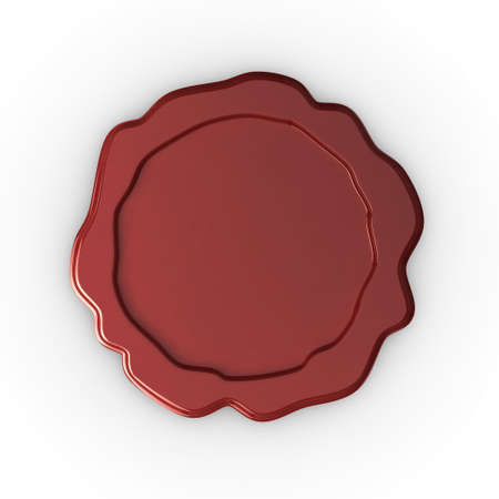 Quality illustration of a blank wax seal, ready for your own design or text. Please see my portfolio for more in the series. illustration