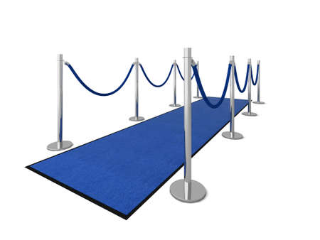 VIP carpet vip illustration isolated on white. Stock Illustration - 5838228