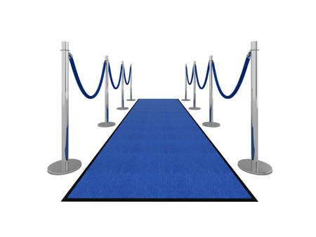 VIP carpet vip illustration isolated on white. Stock Illustration - 5838240