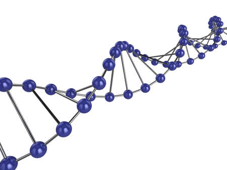 3d illustration representing DNA Stock Illustration - 5919912