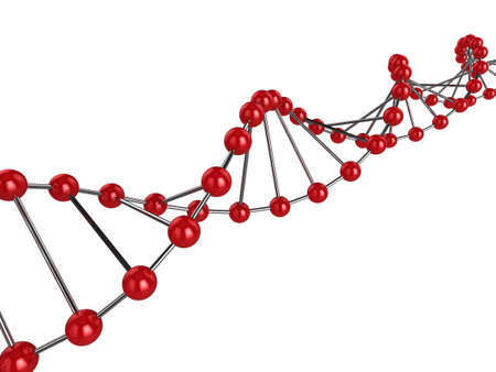 3d illustration representing DNA Stock Illustration - 6298782