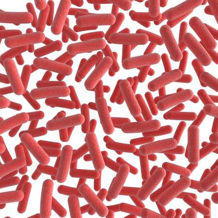 High quality 3d illustration of bacteria Stock Illustration - 6618795
