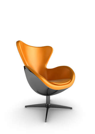 Illustration of a stylish designer chair on a white background Stock Illustration - 6618788