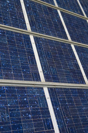 closeup view of solar panels Stock Photo - 851421