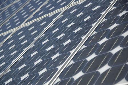 closeup view of solar panels Stock Photo - 851418
