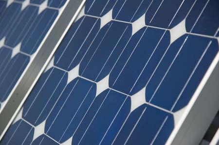 closeup view of solar panels Stock Photo - 851419