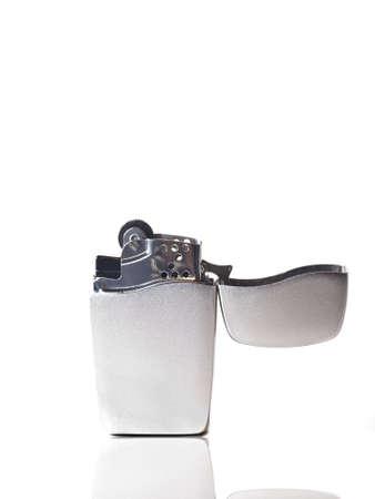 butane: butano m�s ligero, se utilice para encendiendo los productos del tabaco.  Foto de archivo