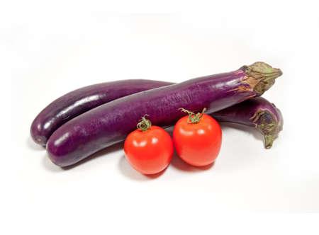 summer vegetables isolated on white Reklamní fotografie