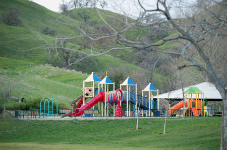a childrens paradise in the green foothills