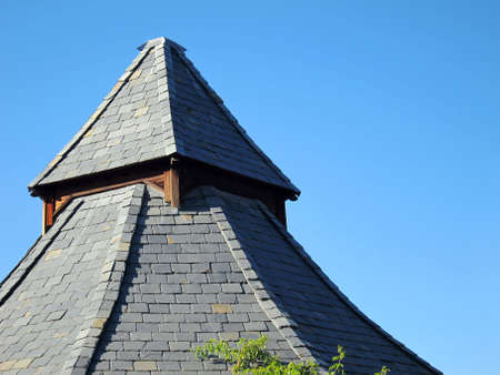 cone shaped: cone shaped roof