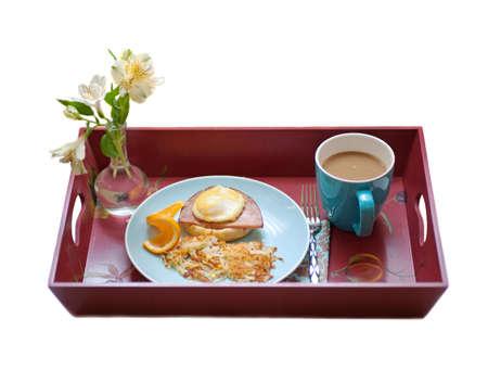 eggs benedict breakfast Archivio Fotografico