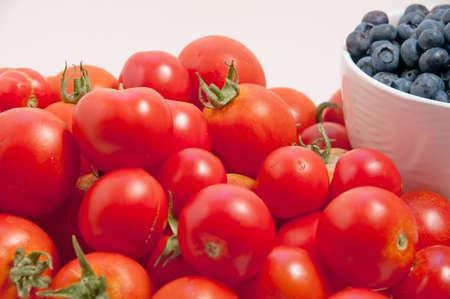 super antioxidant fruits and vegetables Banco de Imagens