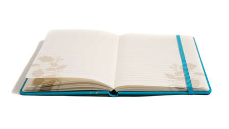 notebook from the side