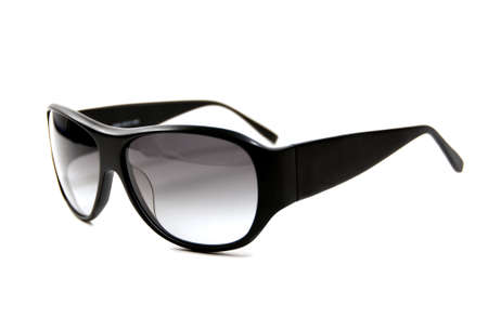 cool shades isolated on white Stock Photo