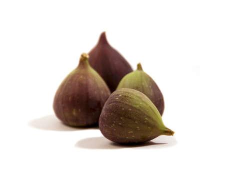 fresh summer figs still life Banco de Imagens
