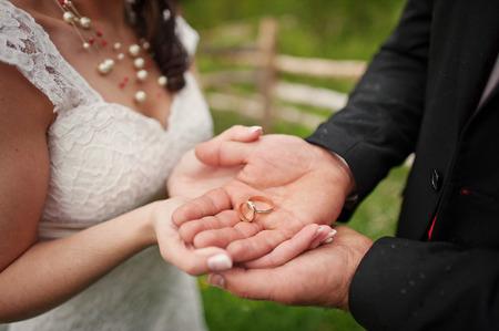 wedding ring hands: Wedding ring hands