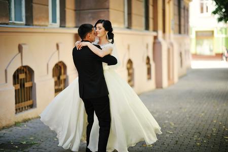 Dance wedding couple