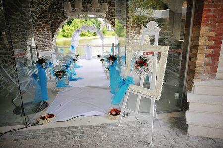 Wedding decoration easel
