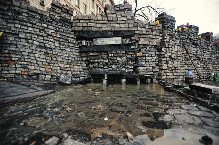 revolution: KYIV, UKRAINE - FEBRUARY 2014: Euromaidan. Revolution of Freedom. Editorial