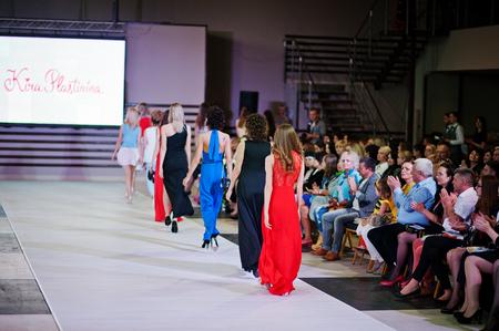 01: KYIV -JUNE 01: Podolyany Fashion Week, Ukraine