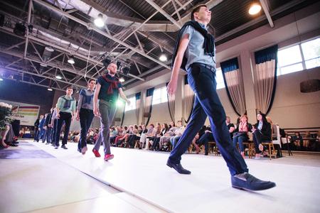 01: KYIV JUNE 01: Podolyany Fashion Week Ukraine