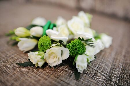 buttonhole: buttonhole on textile background