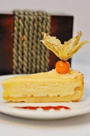 choc: sweet cakes food isolated on white Stock Photo