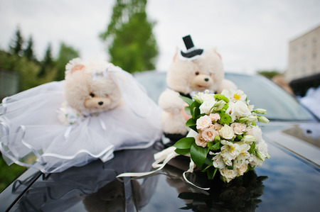 soft toys: funny soft toys bears wedding