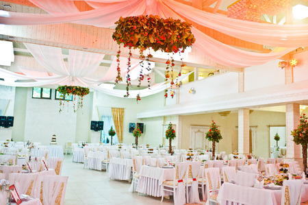 Awesome wedding hall on restaurant