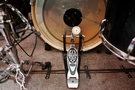 bass drum: Drum set and  bass drum pedal