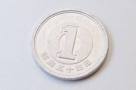 numismatic: 1 yen Japan coin