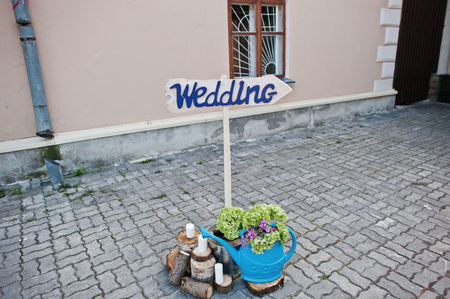 Perfect wedding decorations for special occasion.