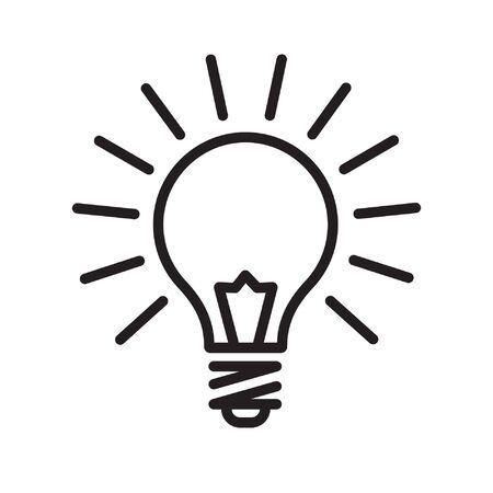 Glühbirnen-Symbol