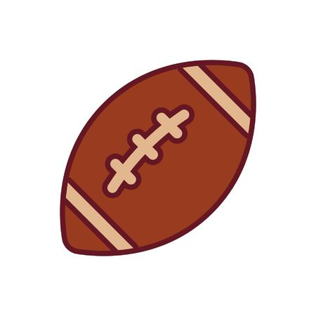 American football ball icon