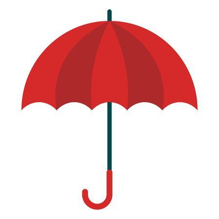 Icono de paraguas Ilustración de vector