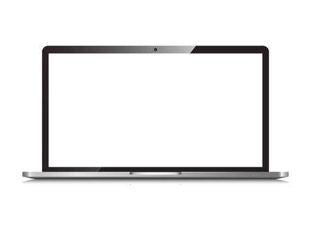 Laptop isoliert Vektorgrafik