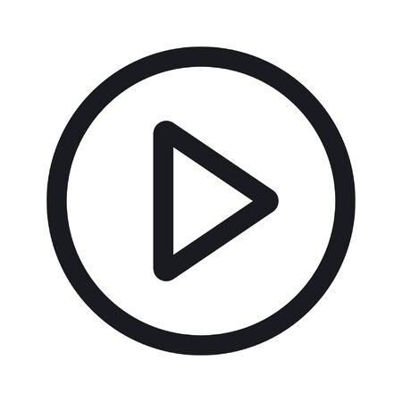icône de lecture vidéo