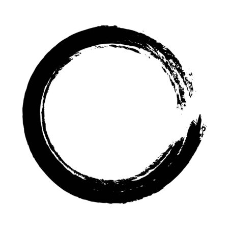 Yoga Zen Symbol Stock Illustratie