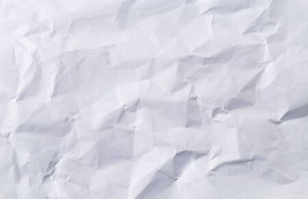 Crumpled white paper Stockfoto