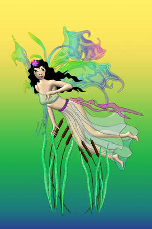 Flying Swamp Fairy photo