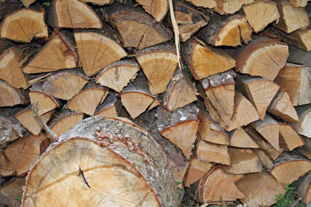 Firewood Reklamní fotografie