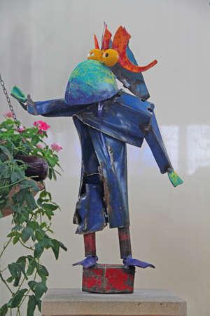 animal figurines: Fantasy Bird