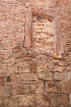 window in the wall Reklamní fotografie