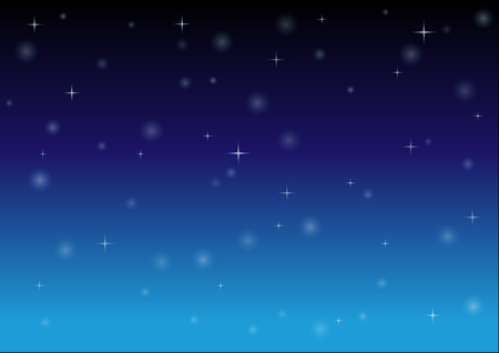 stars in night sky. background vector