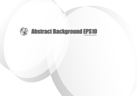 Abstract gray faded background Illustration