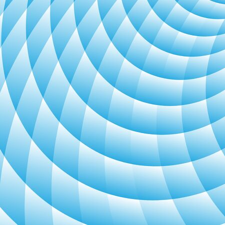 Blue abstract perspective background Illustration
